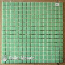 free shipping light green glass mosaic tile for bathroom and