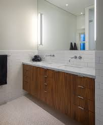 Bathroom Vanity San Francisco by Subway Tile Ideas Bathroom Contemporary With Beige Wall Black