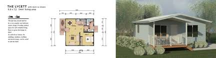 1 Bedroom Modular Homes Floor Plans by Modular Home The Lycett 1 Bedroom Granny Flat Home Floorplans