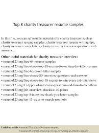 charity motivational letter assistant treasurer cover letter jianbochen com top8charitytreasurerresumesamples 150605100810 lva1 app6891 thumbnail 4 jpg cb