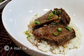 a feast for the eyes asian style boneless beef short ribs
