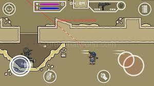 download mini militia fly through walls mod apk latest