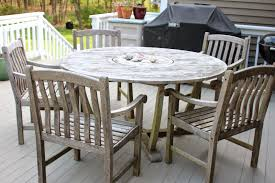 Teak Wood Patio Furniture Set - patio 10 person outdoor dining set with metal patio furniture