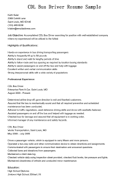 how to make objective in resume driver objective resume free resume example and writing download resume for driver sample of a divorce decree cdl bus driver resume sample with assured that