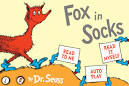 fox in socks coloring page