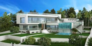 Villa Modern by Fantastic New Project Of A Modern Style Villa In Santa Ponsa