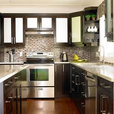 How To Paint Veneer Kitchen Cabinets Box Wooden Stained Kitchen Islands White Marble Counter Top Block