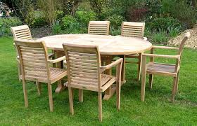 Wood Patio Furniture Sets - decor refinishing chic smith and hawken teak patio furniture