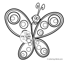 coloring pages simple for kids printable free