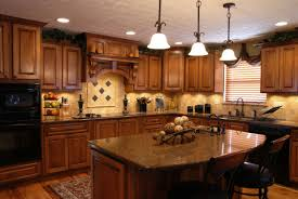 Kitchen Counter Designs by Nice Kitchen Decoration With Wooden Cabinet Also Lavish Kitchen
