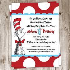 Birthday Invitation Cards Models Dr Seuss Birthday Invitations Redwolfblog Com