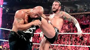CM Punk GTS to The Rock
