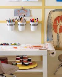 Art And Craft Studio Organized Kids U0027 Spaces Martha Stewart