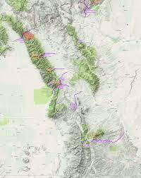Southern Colorado Map by 4x4 Trail Report Medano Pass Dan Nix