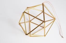 Brass Home Decor by Himmeli Brass Orb Scandinavian Geometric Ornament Gold
