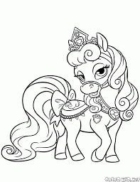 coloring page pony singer
