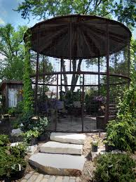 Simple Silo Builder Wonderful Gazebo Made From An Old Corn Silo At Down To Earth