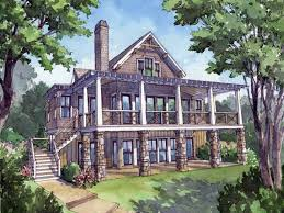 Lakehouse Floor Plans 100 Walkout House Plans Lovely Country House Plans With