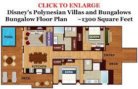review the villas and bungalows at disney u0027s polynesian village resort