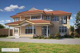House Plans 5 Bedrooms 5 Bedroom House Plans U0026 Designs For Africa Maramani Com