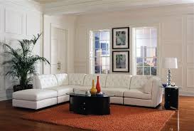 Build Your Own Sectional Sofa by Quinn Build Your Own White Leather Sectional By Coaster 551021 B