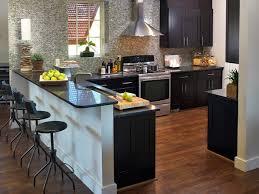 dark granite countertops hgtv