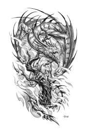 Tattoo Designs Half Sleeve Ideas Best 20 Dragon Sleeve Tattoos Ideas On Pinterest Dragon Sleeve