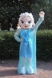 Frozen Halloween Costumes Adults Halloween Costumes Women Elsa Mascot Costume Plush