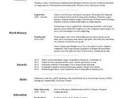Breakupus Splendid Chronological Resume Sample Administrative Breakupus Interesting Free Resume Templates Best Examples For With Divine Goldfish Bowl And     ASB Th  ringen