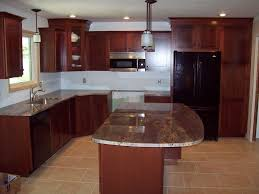 cherry cabinets in kitchen cherry kitchen cabinets for more beautiful workspace traba homes