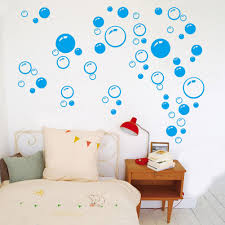 compare prices on bubble wall decor online shopping buy low price 2pcs removable waterproof bubbles pattern wall sticker art decal for bathroom shower tile home baby room