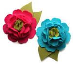 Sprinkled With Glitter: Nesting Blossoms Felt Flower Tutorial