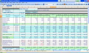 how to make a monthly budget spreadsheet spreadsheets