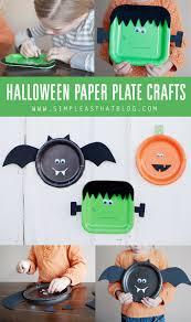 Halloween Tin Can Crafts Halloween Paper Plate Crafts Paper Plate Crafts Craft And
