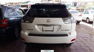 lexus rx400h crossover lexus rx 400h 2006 white half full new tax and paper in phnom penh
