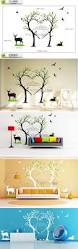 Home Decor Birds by Stickers Large Birds Deer Love Trees Wall Stickers Large Forest