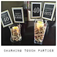 birthday party decorationsmilestone 40th birthday50th