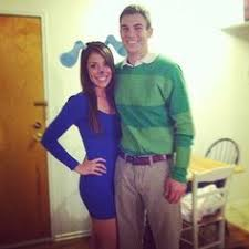 Halloween Costume Ideas For College Students Blues Clues And Steve Couple Halloween Costume Diy My Halloween