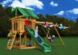 Cedar Playsets Outdoor Yard Playsets Gorilla Swing Sets Swing Sets Sears