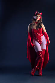 scarlet witch costume comics x men scarlet witch costume with cape cosercosplay com