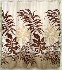 Sea Turtle Home Decor Honu Sea Turtle Hawaiian Quilt Print Bathroom Fabric Shower