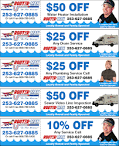 Plumbing Coupons | Tacoma Plumber, Seattle Plumbing Repairs ...