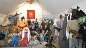 huge 32 animatronic collection spirit halloween and