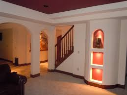 Basement Improvement Ideas by Finishing A Basement Ceiling Home Design Very Nice Modern With