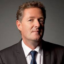 Piers Morgan had his hands