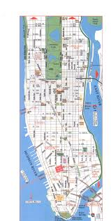 Street Map Of New York City by Map Of Manhattan States
