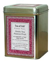 amazon com tea of life green tea passion fruit 3 2 ounce