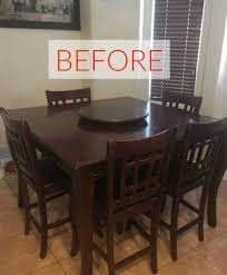 Dining Room Makeovers by 9 Dining Room Table Makeovers We Can U0027t Stop Looking At Hometalk