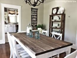 Decor For Dining Room Table Download Rustic Wood Dining Room Table Gen4congress With Regard
