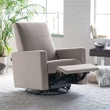 dutailier minho reclining glider with built in footrest hayneedle
